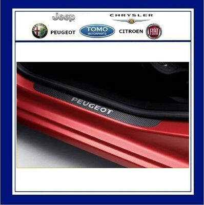 New Genuine Peugeot 308,3008 & 5008 Set Of 4 Front And Rear Door Sill Protectors
