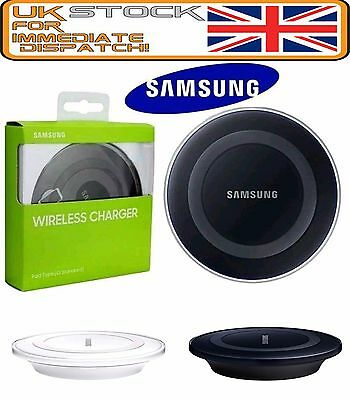 New QI Wireless Charger Charging Pad Dock Plate For SAMSUNG GALAXY S6 S7 EDGE