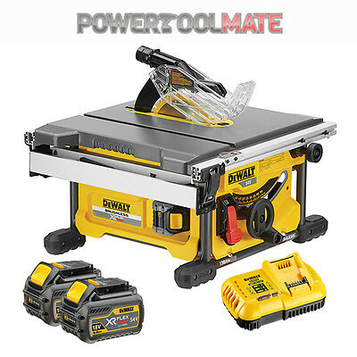 Dewalt DCS7485T2 XR FlexVolt 54/18V Cordless Table Saw c/w 2 x 6.0Ah Batteries