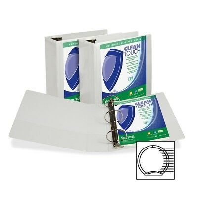 Samsill Antimicrobial Insertable Round Ring Binder 18297
