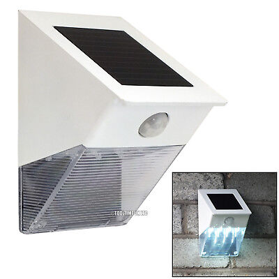 12 Led Solar Powered Door Entrance Security Wall Light With Pir Motion Sensor