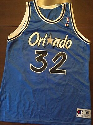 Official NBA Orlando Magic Jersey Shaq Shaquille O'Neal SIGNED