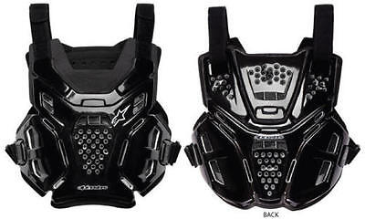 New Adult Alpinestars A6 BNS Body Armour Chest Protector Motocross Black