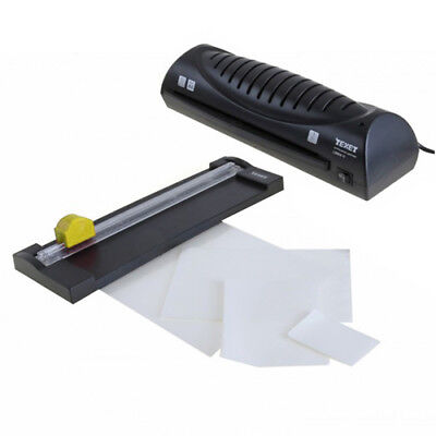 Texet Home Office Personal A4 Hot Laminator Plus Trimmer + 50 Laminating Pouches