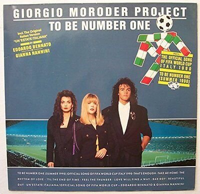 Giorgio Moroder Project To be number one (1990) [LP]
