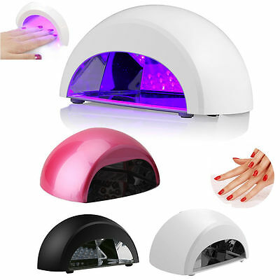 Professional 60 LED Nail Lamp Dryer Light for Gelish UV Gel with 4 x Auto Timer