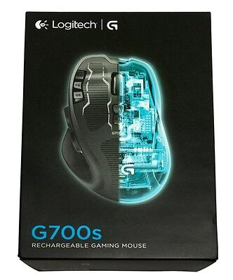 NEW LOGITECH G700s Cordless USB Rechargeable Laser Gaming Mouse for PC & Laptop
