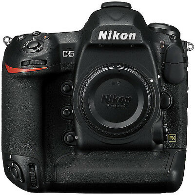 Nikon D5 20.8MP FX-Format Digital SLR Camera Body Dual CF Version 4K UHD Video