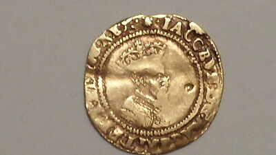 James 1st Gold Crown.British.mm Escallop. 1606-1607.1st Bust.Rare.BIG REDUCTION.