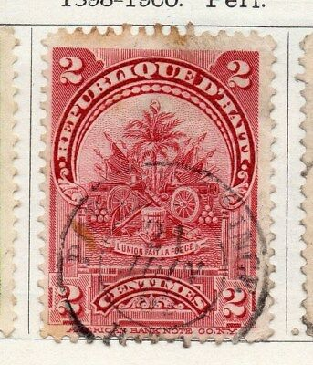 Haiti 1898-1900 Early Issue Fine Used 2c. 100903