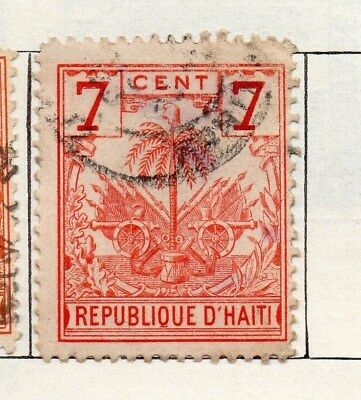 Haiti 1898 Early Issue Fine Used 7c. 100933