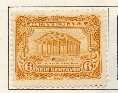 Guatemala 1925 Early Issue Fine Mint Hinged 6c. 100942
