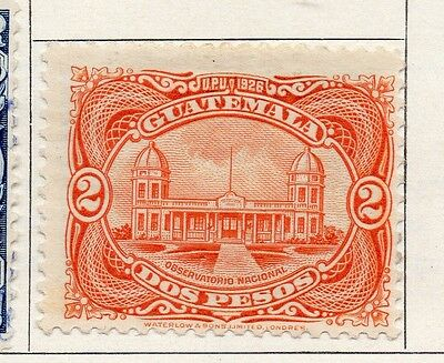 Guatemala 1926 Early Issue Fine Mint Hinged 2P. 100947
