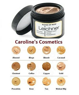 Leichner Camera Clear Tinted Foundation 30ml - Choose your shade