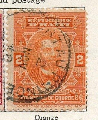 Haiti 1912 Early Issue Fine Used 2c. 099766