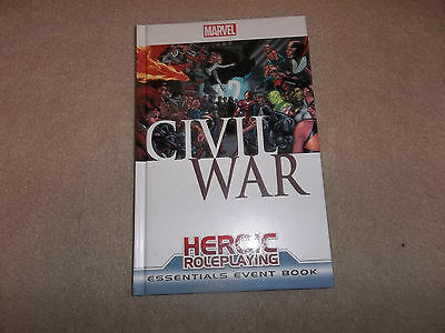Marvel Heroic Roleplaying Civil War Essentials Event Book