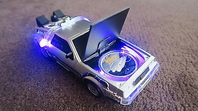 BACK TO THE FUTURE 2015 1oz Silver coin INSIDE DeLorean model car **BRAND NEW**