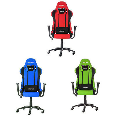 Merax Executive PU Leather Racing Gaming Chair Seats High Back Office Chair Desk