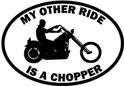My Other Ride Is A Yamaha FJR 1300 Motorcycle Car Window Vinyl Decal Sticker