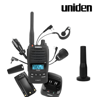UNIDEN RM100 REMOTE LCD SPEAKER MICROPHONE WITH EXTENSION LEAD UH400sx UH500sx