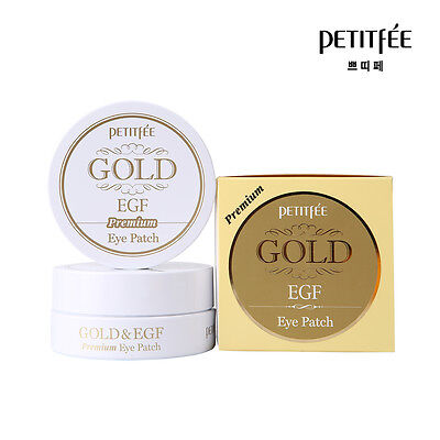NEW PETITFEE Premium Gold & EGF Eye Patch 60 Pieces