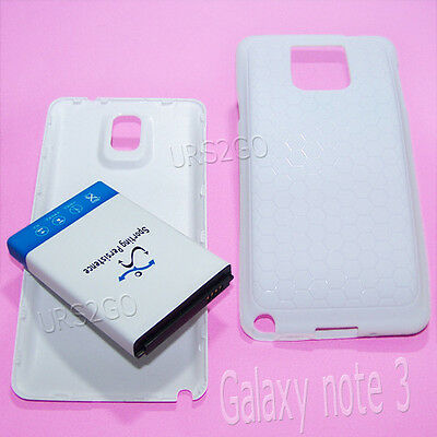 Sporting 10300mAh Extended Battery TPU Cover Case f Samsung Galaxy Note 3 N900R4