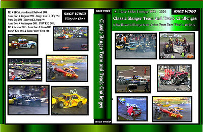 Race Video - Classic Banger and Track Challenges Vol 1 6 disc boxset 1993 - 2004