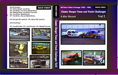 Race Video - Classic Banger Team & Track Challenges Vol 2 - Intertrack & ORC.