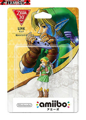 NEW - Link Orcarina of Time Amiibo Zelda 30th Anniversary Wii U & New 3DS