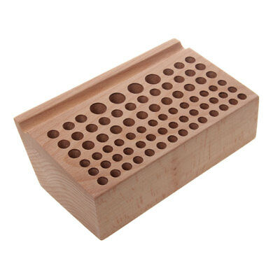 Leather Crafts Wooden Stand Holder Organiser for 76 Leather Punch Tool
