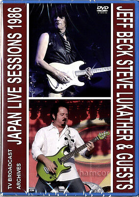 Jeff Beck & Steve Lukather Japan Live Sessions 1986 DVD