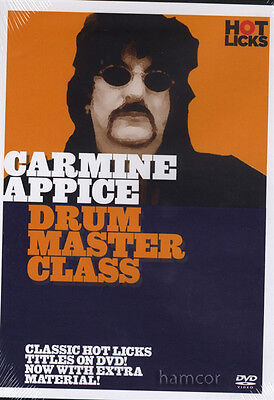 Carmine Appice Drum Master Class Drumming Tuition DVD