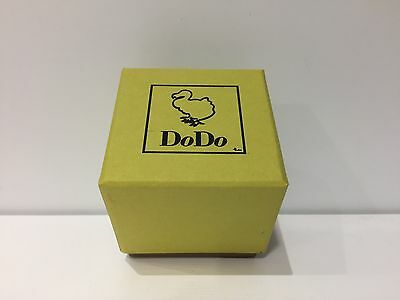 New - DODO - Estuche Box Case Scatola - Carton Paper - Yellow - Green