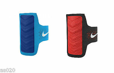 Nike Mens Womens Challenger Smartphone Arm Band Running Gym Sports - Black /Red