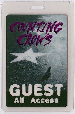 Counting Crows ALL ACCESS 1996-1997 Laminated Backstage Pass