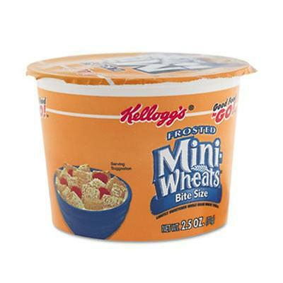 Keebler Breakfast Cereal, Frosted Mini Wheats, Single-Serve, 2.5 oz, 6 Cups-Box