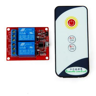 2-Channel 5V LED Relay Module With Infrared Remote Control