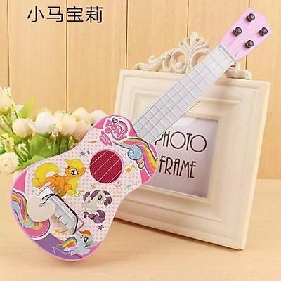 Lot cartoon plastic guitar simulation instrument Kids music Toys O262