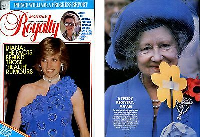 Royalty Monthly magazine January 1983 Vol 2 No 7 Diana Anne Africa Queen Mother