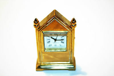 """Gothic Table Clock Miniature Clock"" by Hachette...No 40 In the Series."