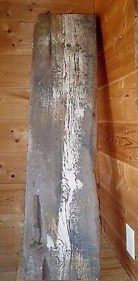 "Primitive Rustic Reclaimed BARN Wood Fireplace Mantle Shelf Bench 47"" X 1ft X 2"""