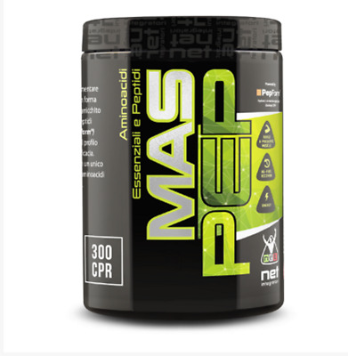 NET INTEGRATORI M.A.S 16  300 cpr - MAS- AMINOACIDI ESSENZIALI  PRE POST WORKOUT