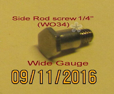 "American Flyer Wide Gauge Side rod ¼"" shoulder screw (NEW)"