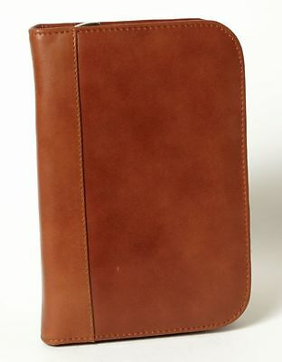 Aston American Cowhide Leather Collector's Case for 10 Pens, Cognac