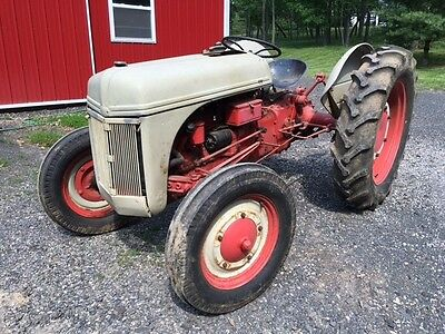 Early Vintage Ford 9N Farm Tractor 3 Point Rear Lift w PTO & Adaptor Very Clean