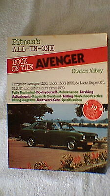 Motor Manual - Pitman's All-In-One Book of the Avenger by Staton Abbey
