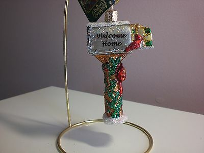 "Old World Christmas ""Welcome Home"" ornament"