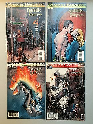 Complete Set FANTASTIC FOUR 1 2 3 4 (Marvel, 2003) Marvel Knights #1 to #4