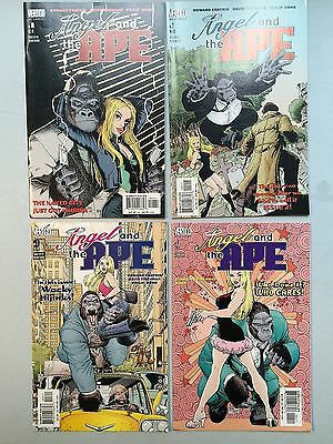 Complete Set of ANGEL AND THE APE (DC Comics, 2011) by Howard Chaykin - #1 to #4