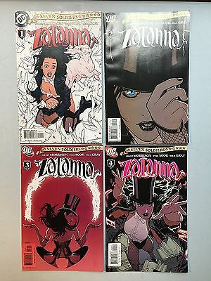 Complete Sets of SEVEN SOLDIERS Mini-Series (DC Comics) 28 Issues - Zatanna ++